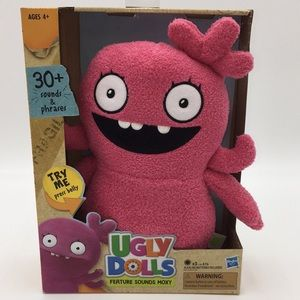 UGLY DOLLS Feature Sounds Moxy Talking Toy Pink
